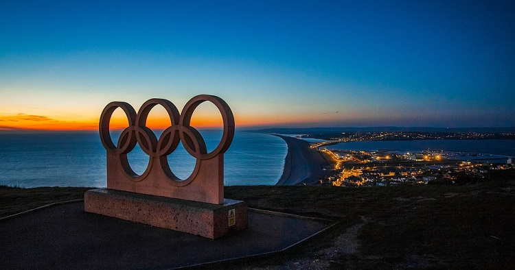 NEC-Portland-Olympic-Rings